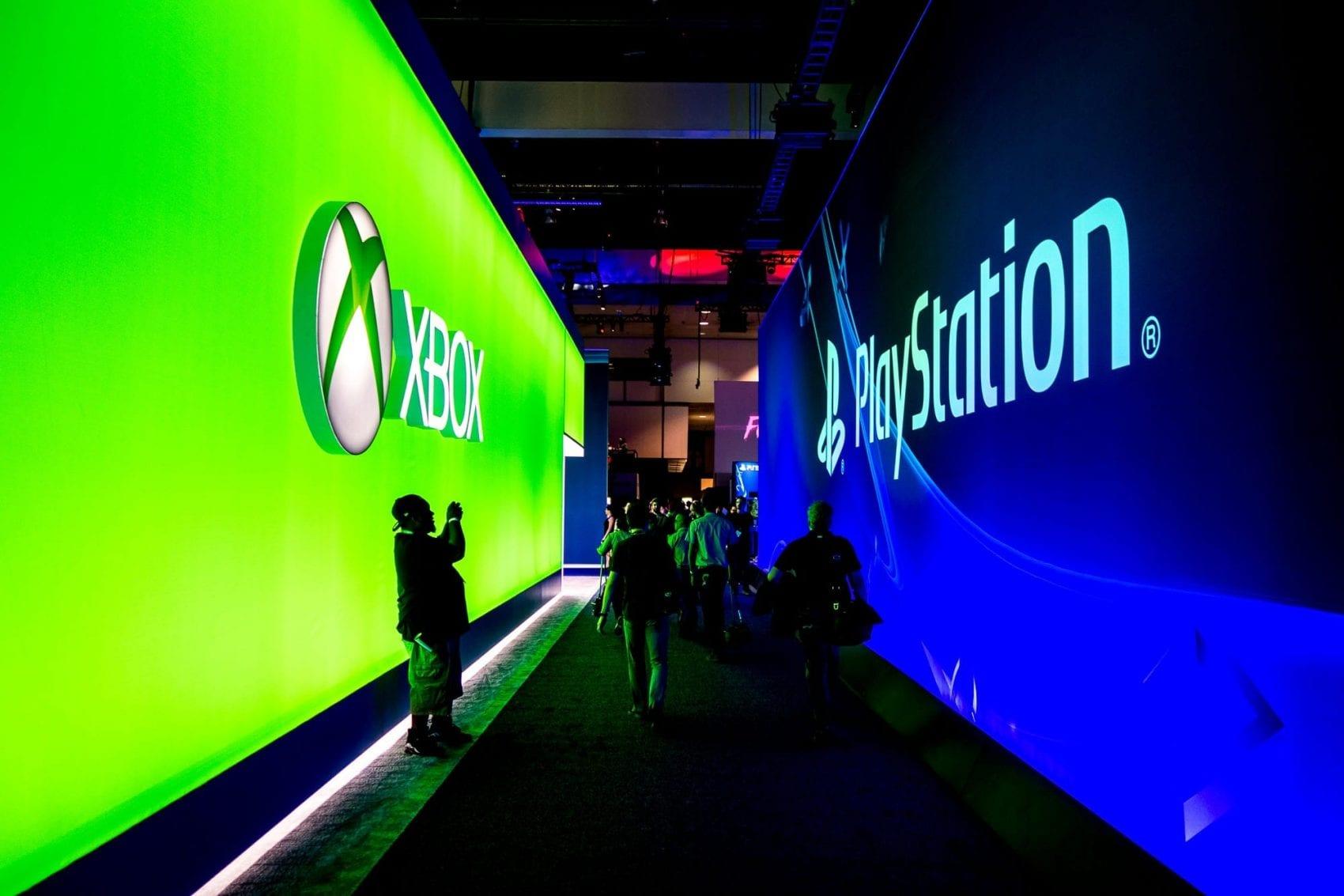 E3 Sony Microsoft