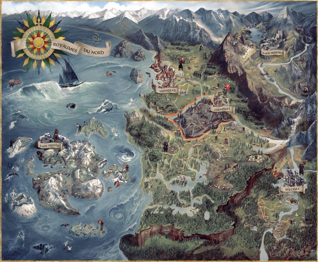Map The Witcher 3 Test My Gekk Actu