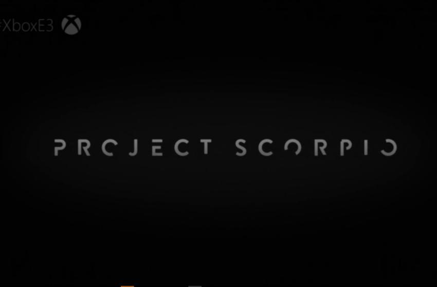 E3 – Project Scorpio