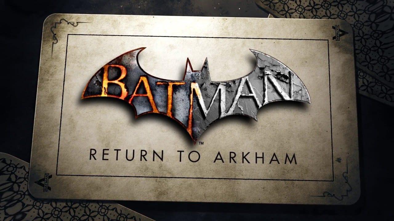 Batman Return to Arkham News My Geek Actu Logo