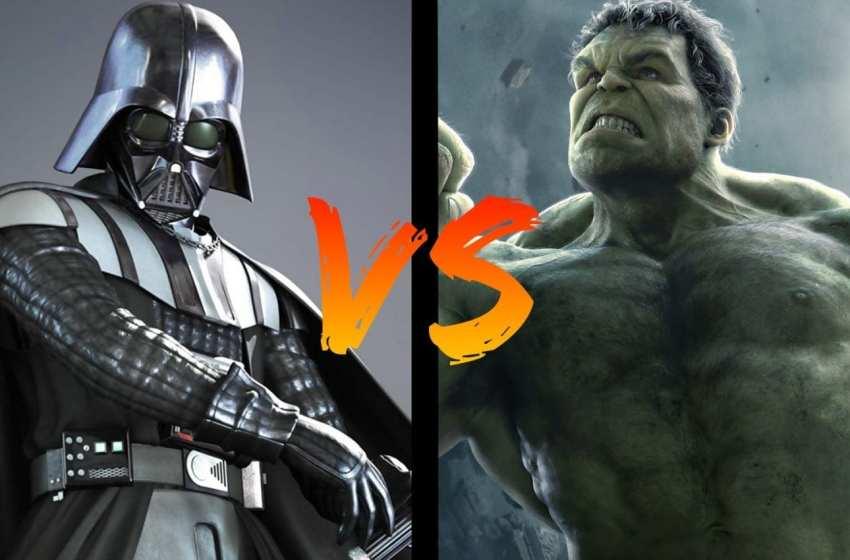 BATTLE – Dark Vador VS Hulk