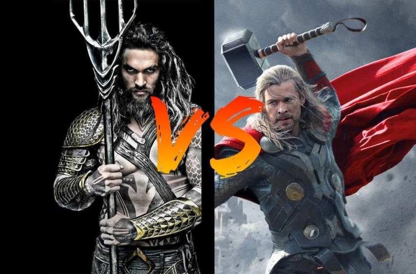 BATTLE – Thor VS Aquaman
