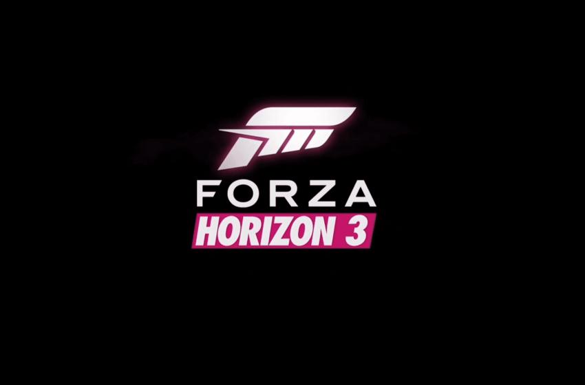 E3 – Forza Horizon 3