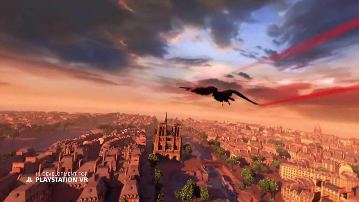 Eagle Flight Playstation VR News PS4 E3 My Geek Actu