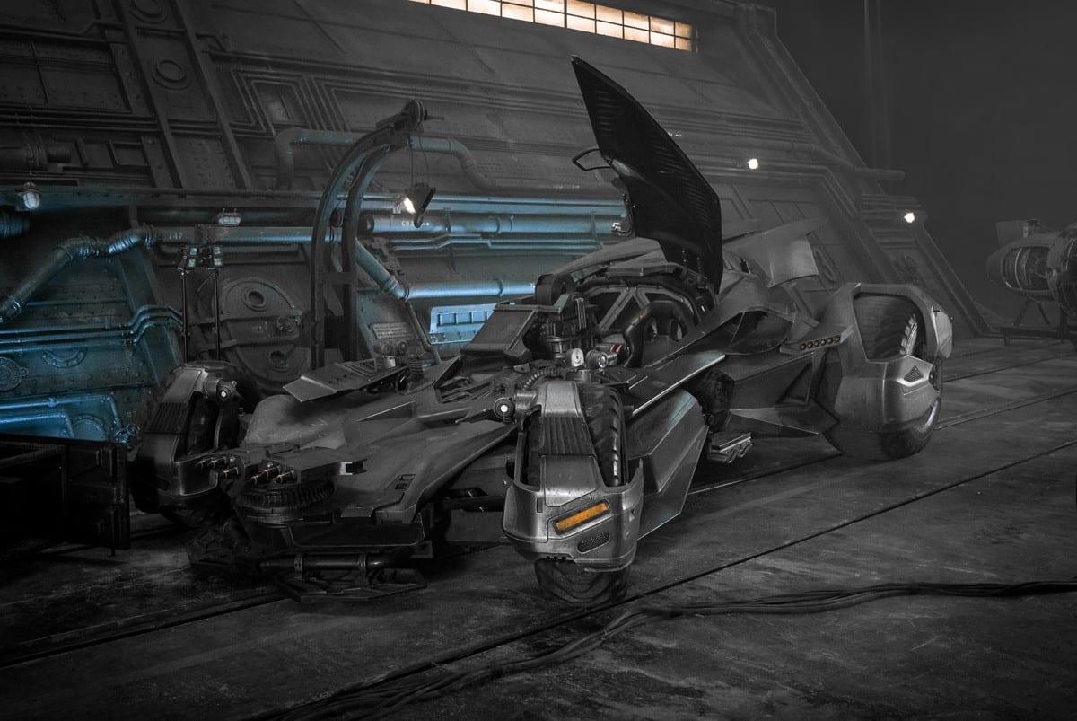 Justice League News My Geek Actu Batmobile