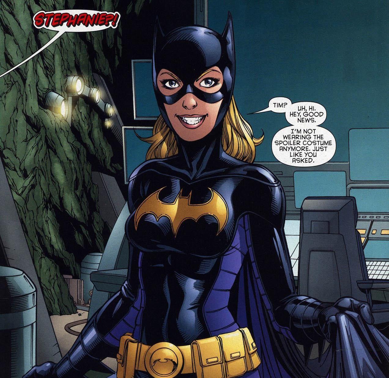 Robin Personnage My Geek Actu stephanie brown batgirl