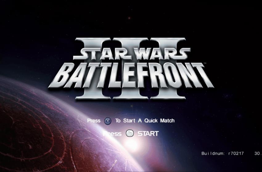 NEWS – Star Wars Battlefront III