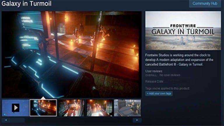 Star Wars Battlefront News My Geek Actu steam
