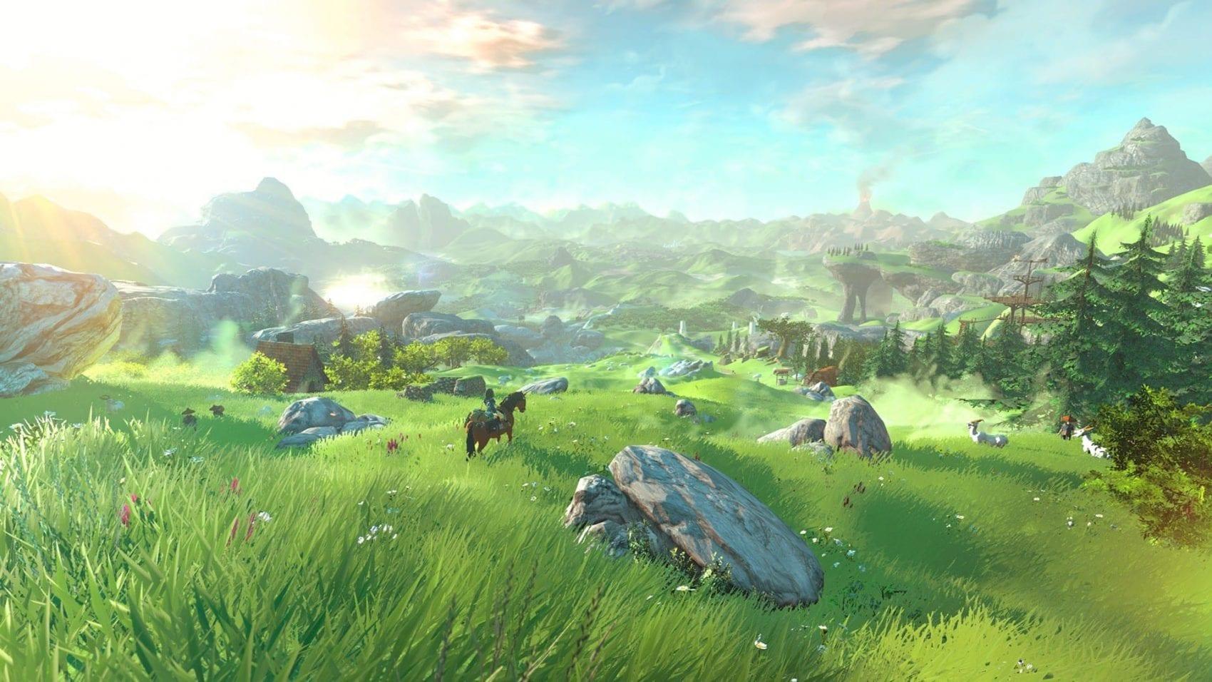 The Legend of Zelda Breath of The Wild News E3 My Geek Actu Cover Alternative
