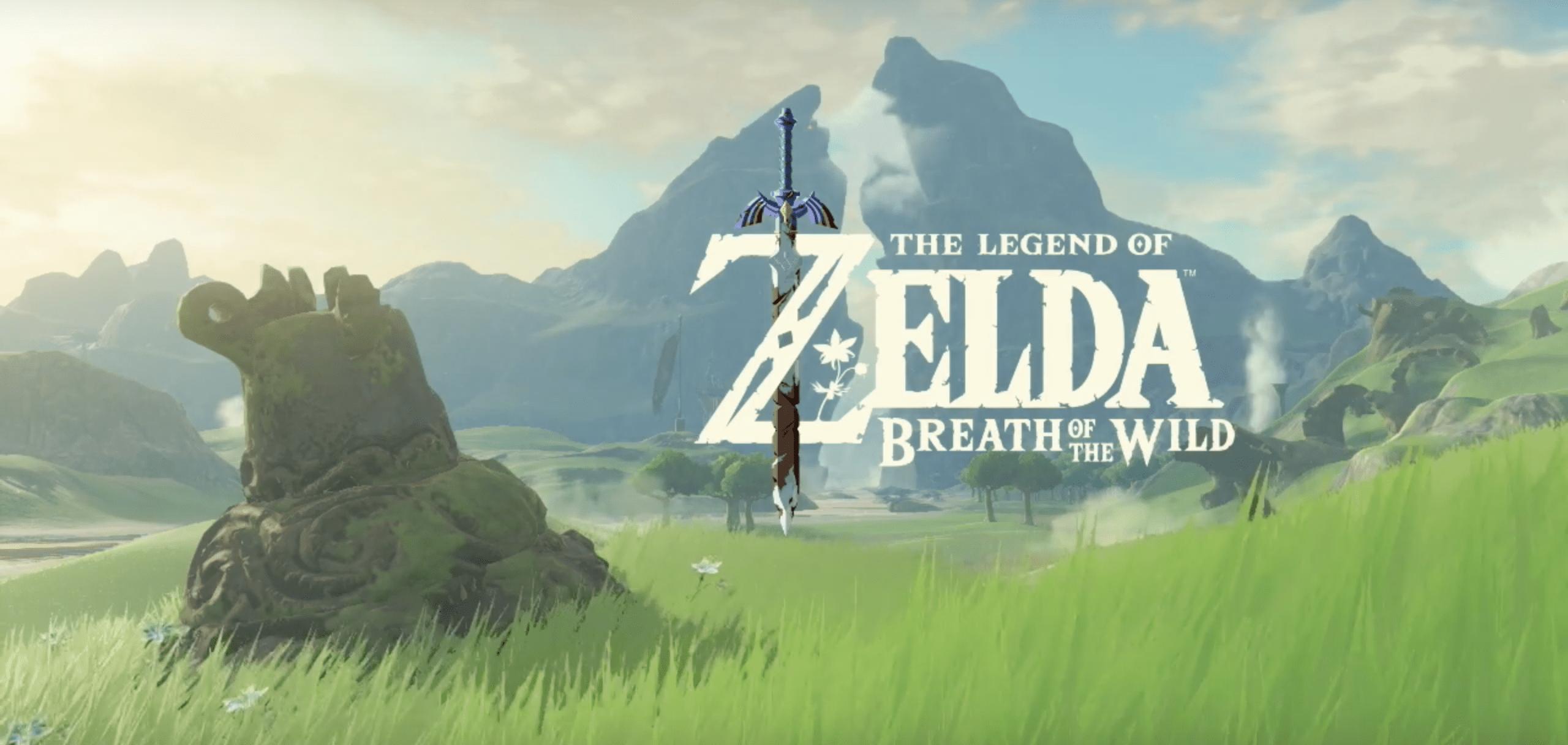 The Legend of Zelda Breath of The Wild Nintendo News E3 My Geek Actu Cover
