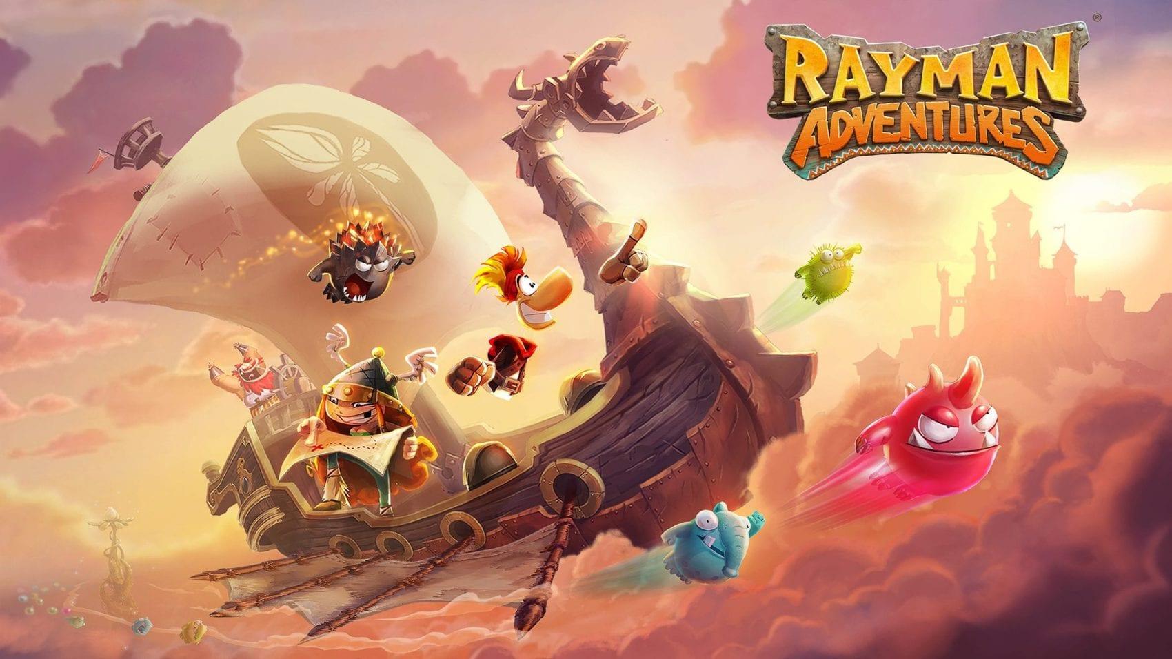 TOP 10 Jeux Mobile My Geek Actu Rayman Adventure