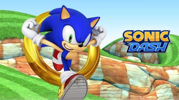 TOP 10 Jeux Mobile My Geek Actu Sonic Dash