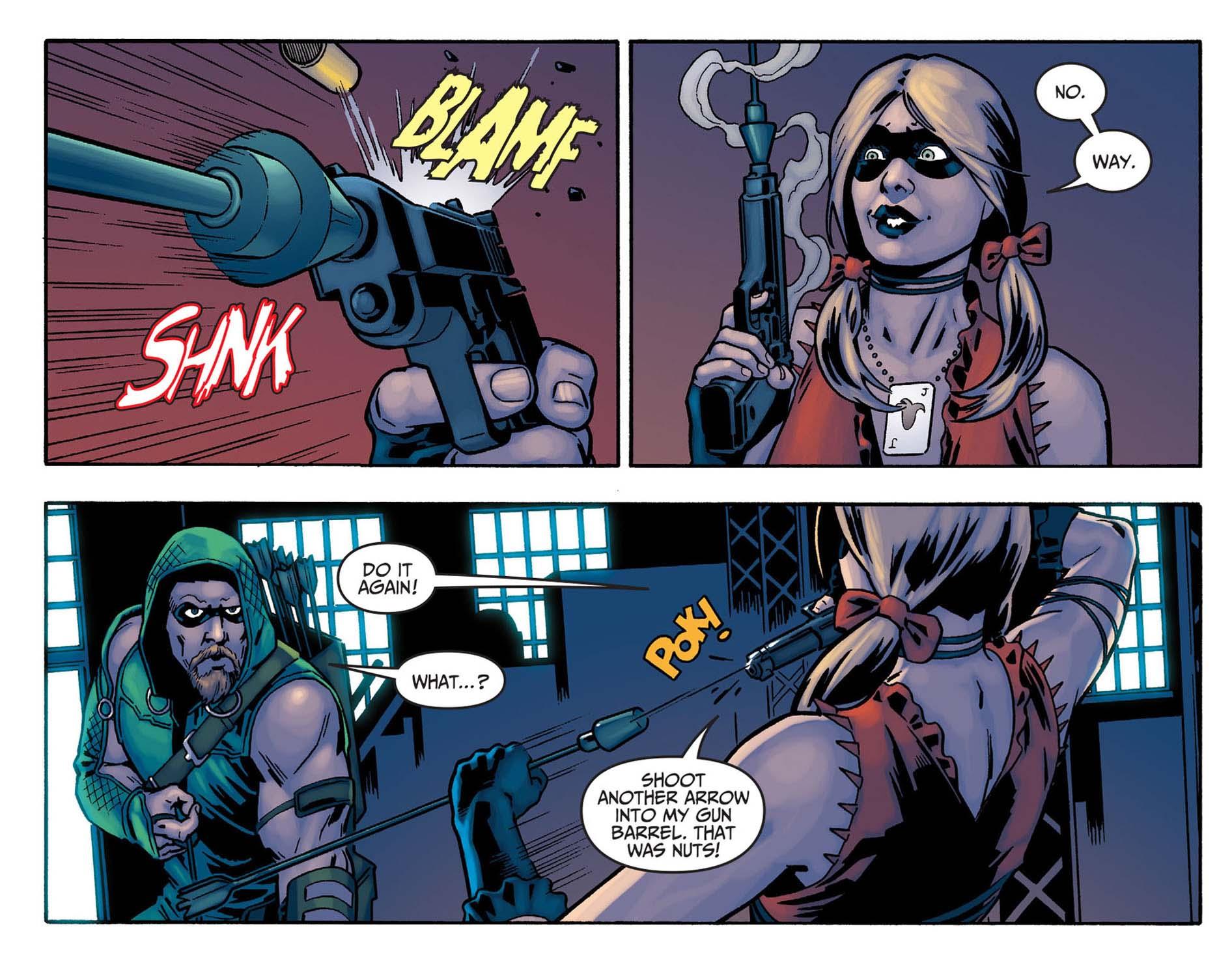 Arrow Saison 5 Trailer My Geek Actu Harley Quinn Injustice