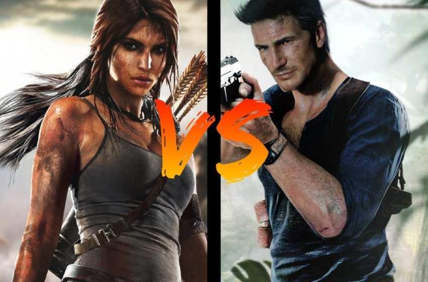 BATTLE – Lara Croft VS Nathan Drake