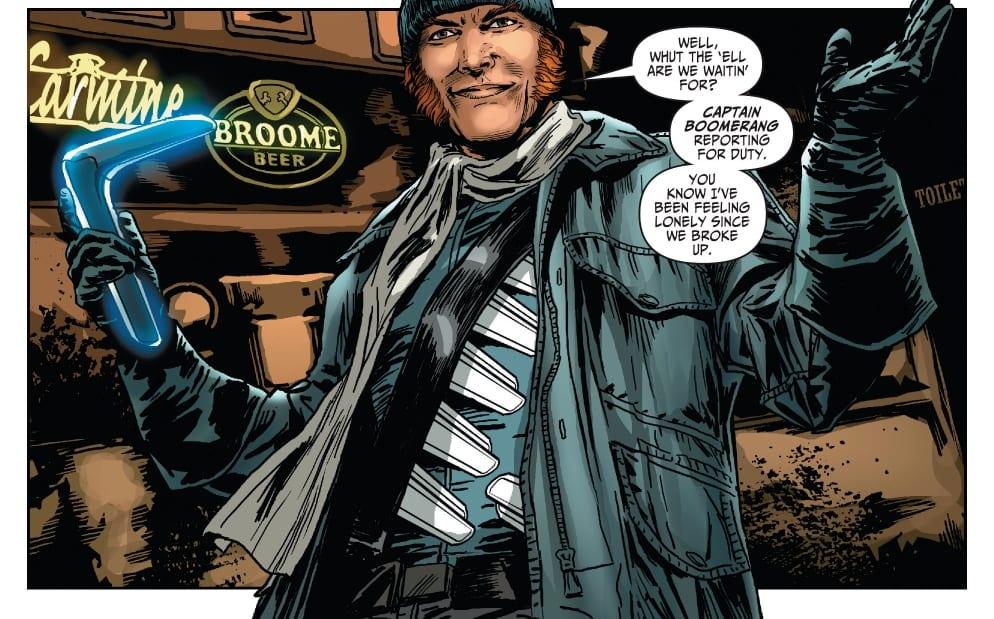 Captain Boomerang Wiki My Geek Actu 3