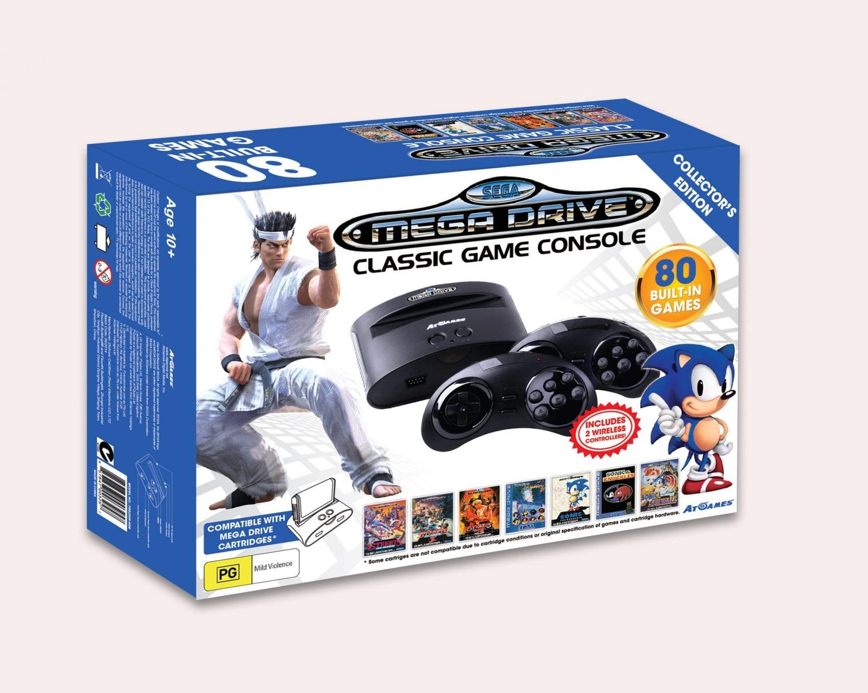 Mega Drive Classic Game Console News My Geek Actu