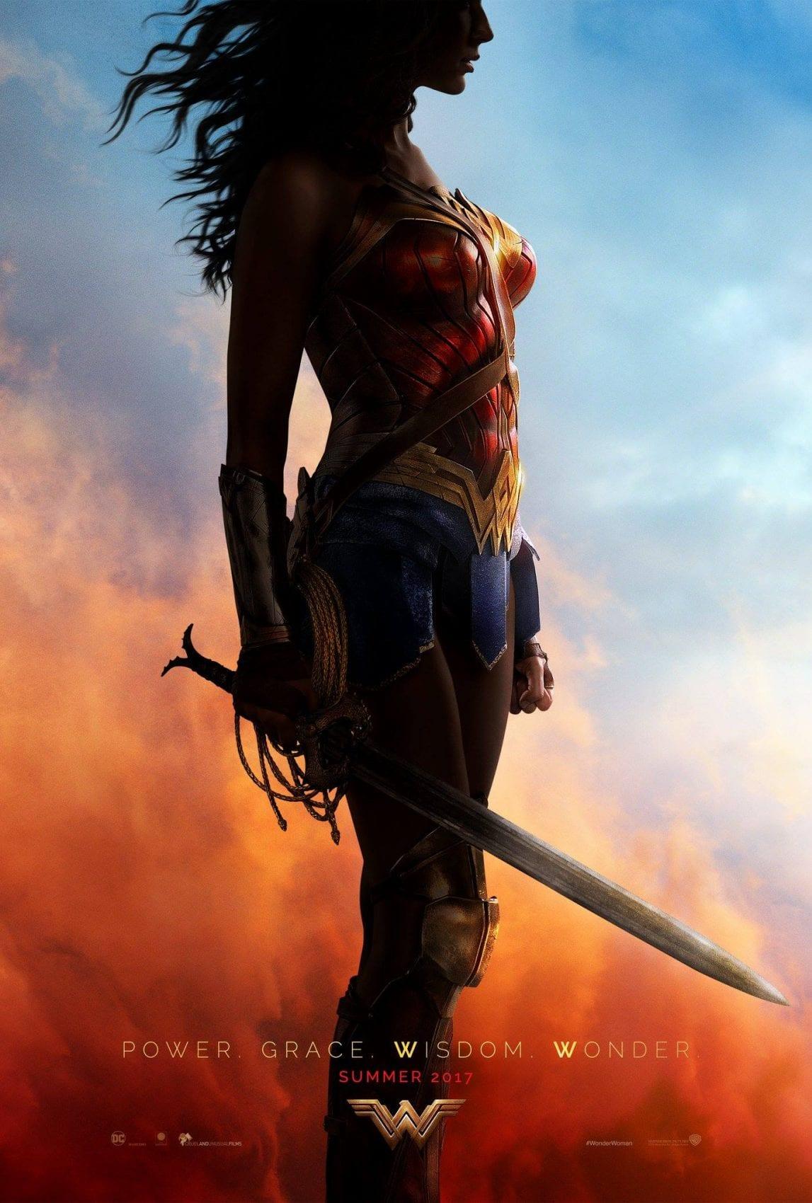Wonder Woman Trailer My Geek Actu Affiche Officielle