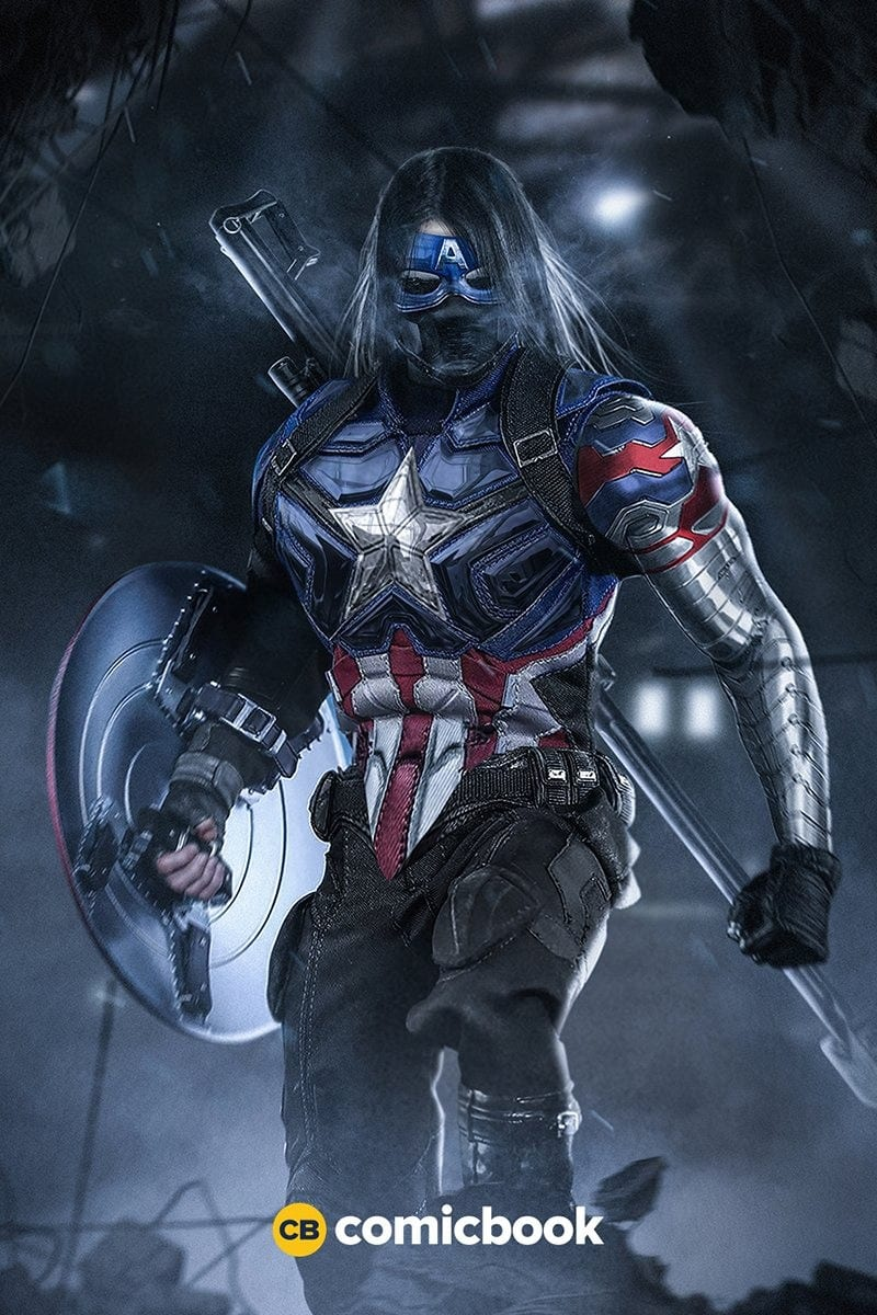 Bucky captain america news my geek 2
