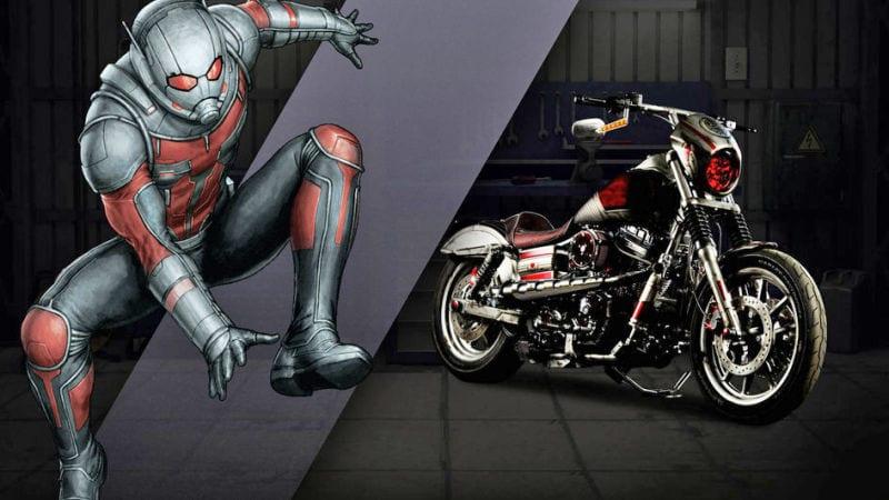 Captain Amercia 75 anniversaire News My Geek Actu Harley Davidson Ant-Man 2