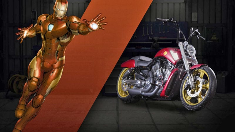 Captain Amercia 75 anniversaire News My Geek Actu Harley Davidson Iron Man 2