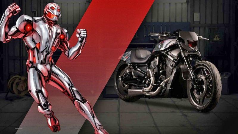 Captain Amercia 75 anniversaire News My Geek Actu Harley Davidson Ultron