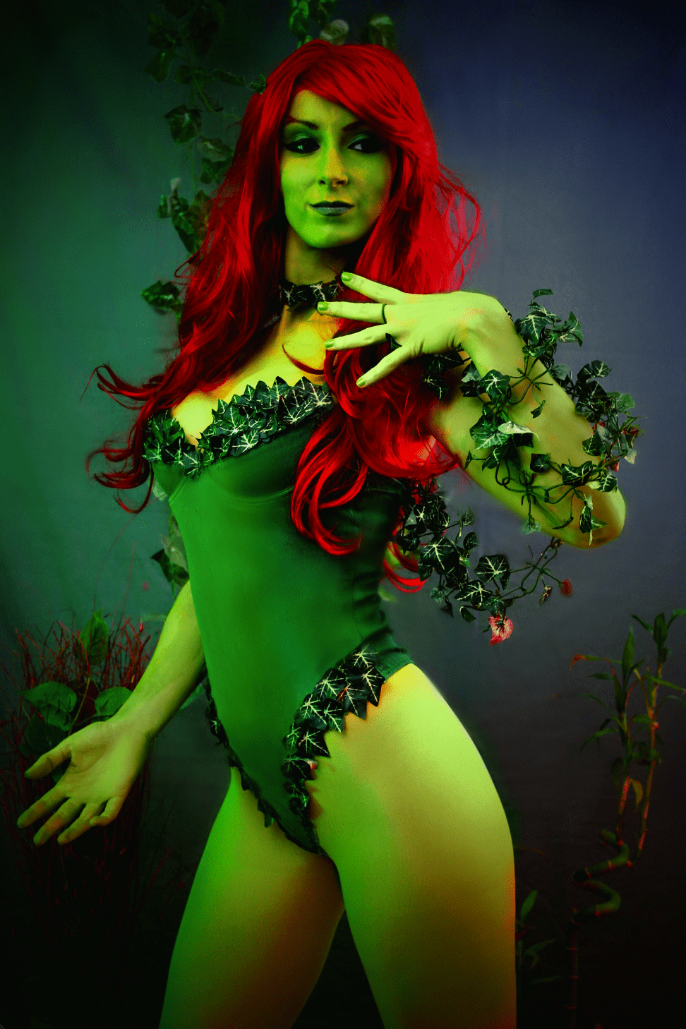 Jill Grayson Interview My Geek Actu Poison Ivy