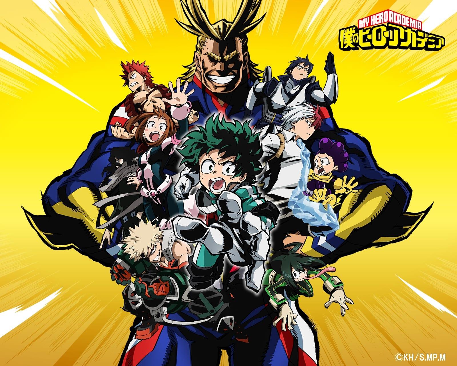 NEWS – My Hero Academia (saison 2)