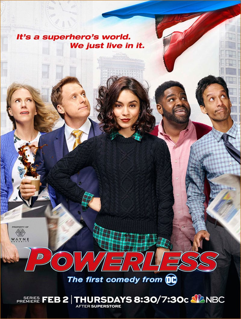REVIEW – Powerless
