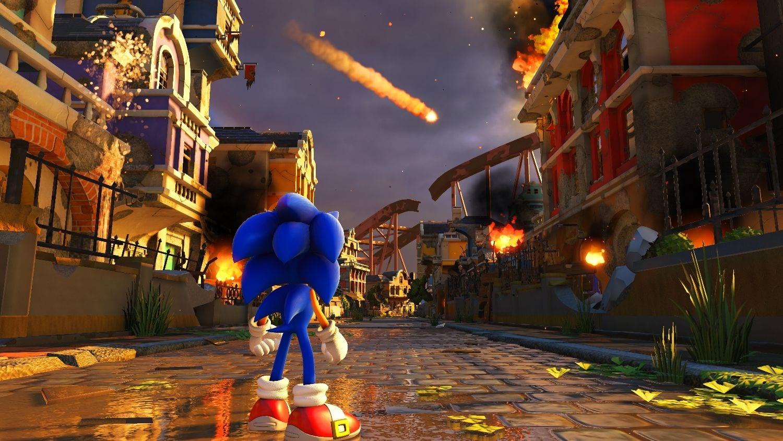 Sonic Forces News My Geek Actu Ville feu