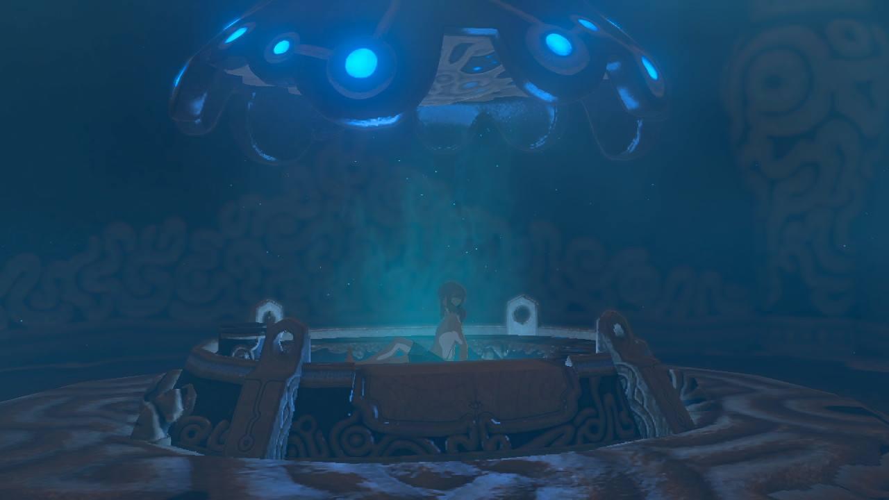The Legend of Zelda Breath of the Wild Test Reveil