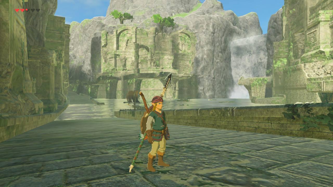 The Legend of Zelda Breath of the Wild Test Ruines