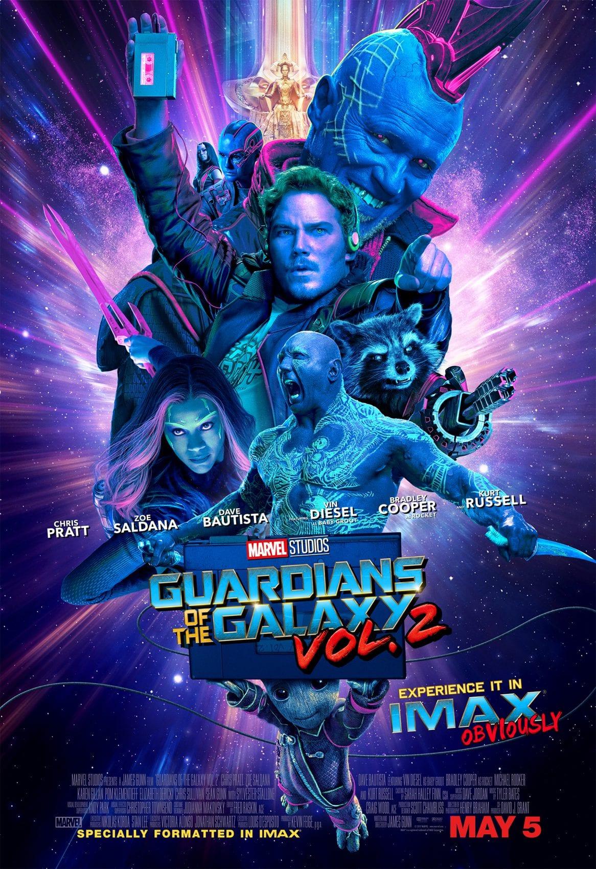 REVIEW – Les Gardiens de la Galaxie Vol.2
