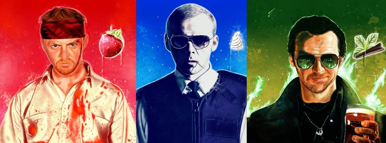 Trilogie Cornetto My Geek Actu 2
