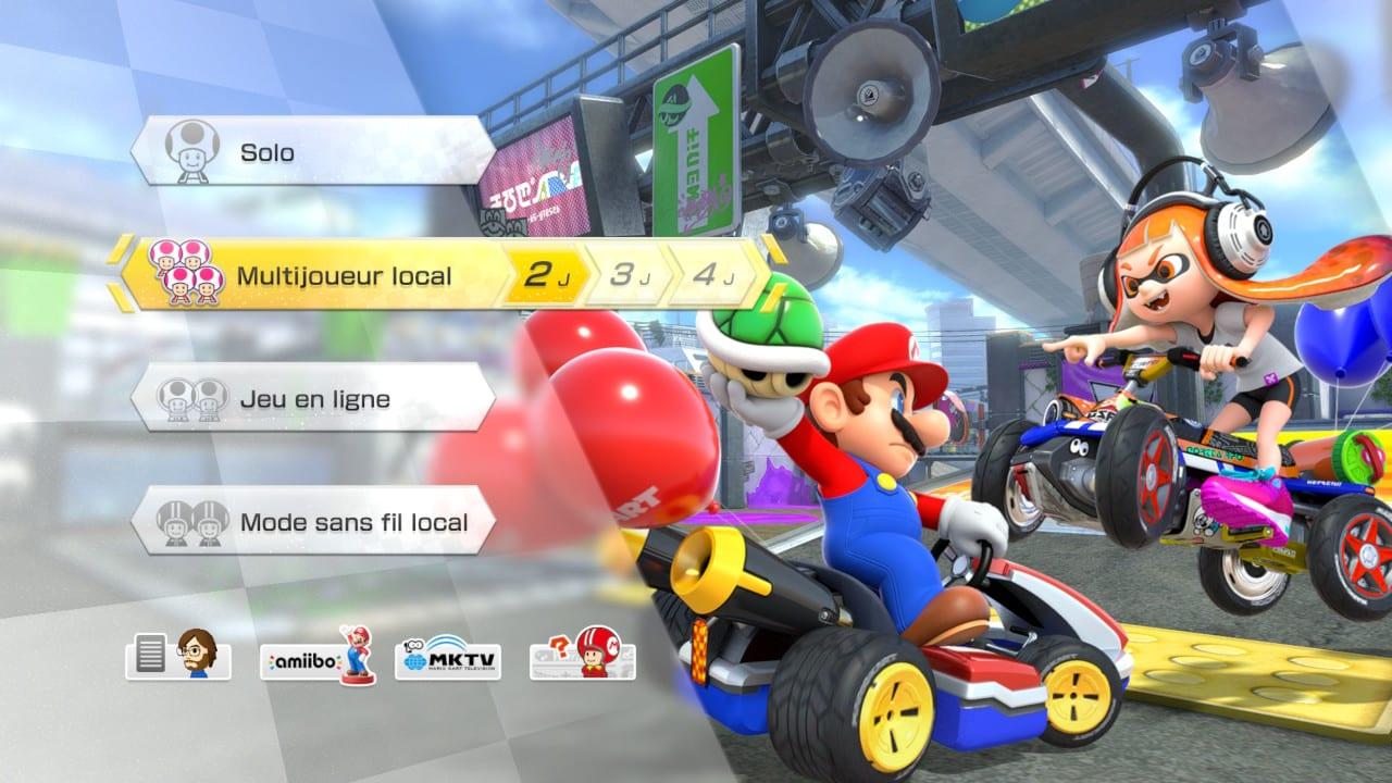 Mario Kart 8 Deluxe Test My Geek Actu Accueil
