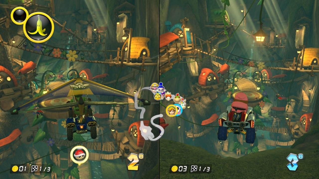 Mario Kart 8 Deluxe Test My Geek Actu Feuille Vol