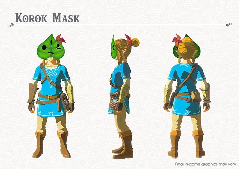 The Legend of Zelda Breath of the Wild News DLC 1 My Geek Actu Korok