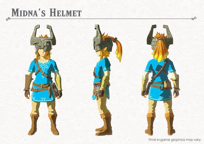 The Legend of Zelda Breath of the Wild News DLC 1 My Geek Actu Midna