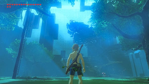 The Legend of Zelda Breath of the Wild News DLC 1 My Geek Actu Trial of the sword 1