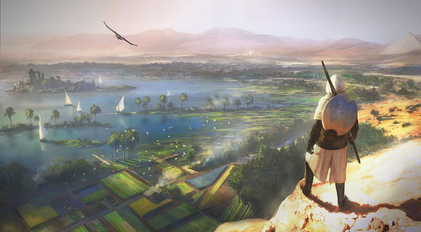 Assassin's Creed Origins News Trailer E3 My Geek Actu 1