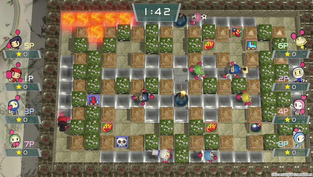 Super Bomberman R Test My Geek Actu 8 players