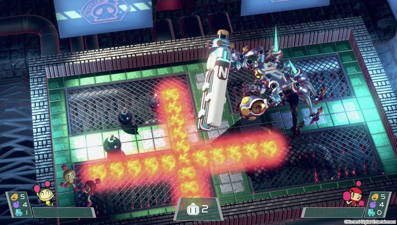 Super Bomberman R Test My Geek Actu Boss