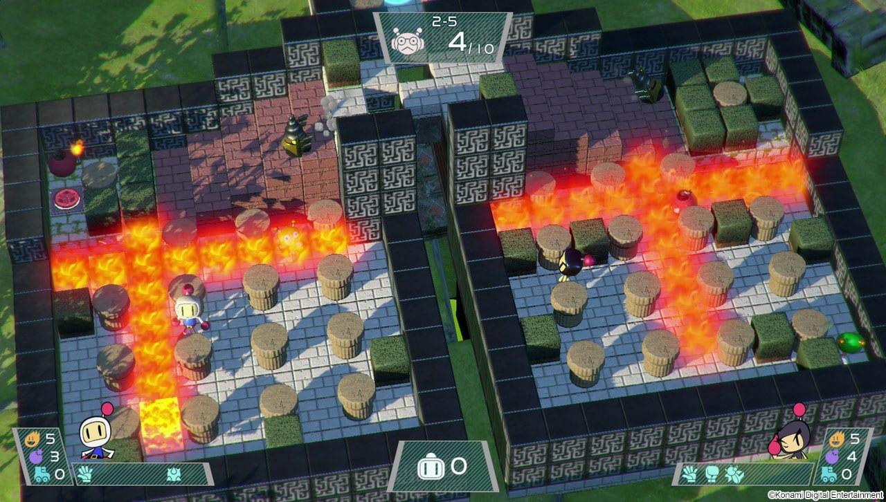 Super Bomberman R Test My Geek Actu Coop 2