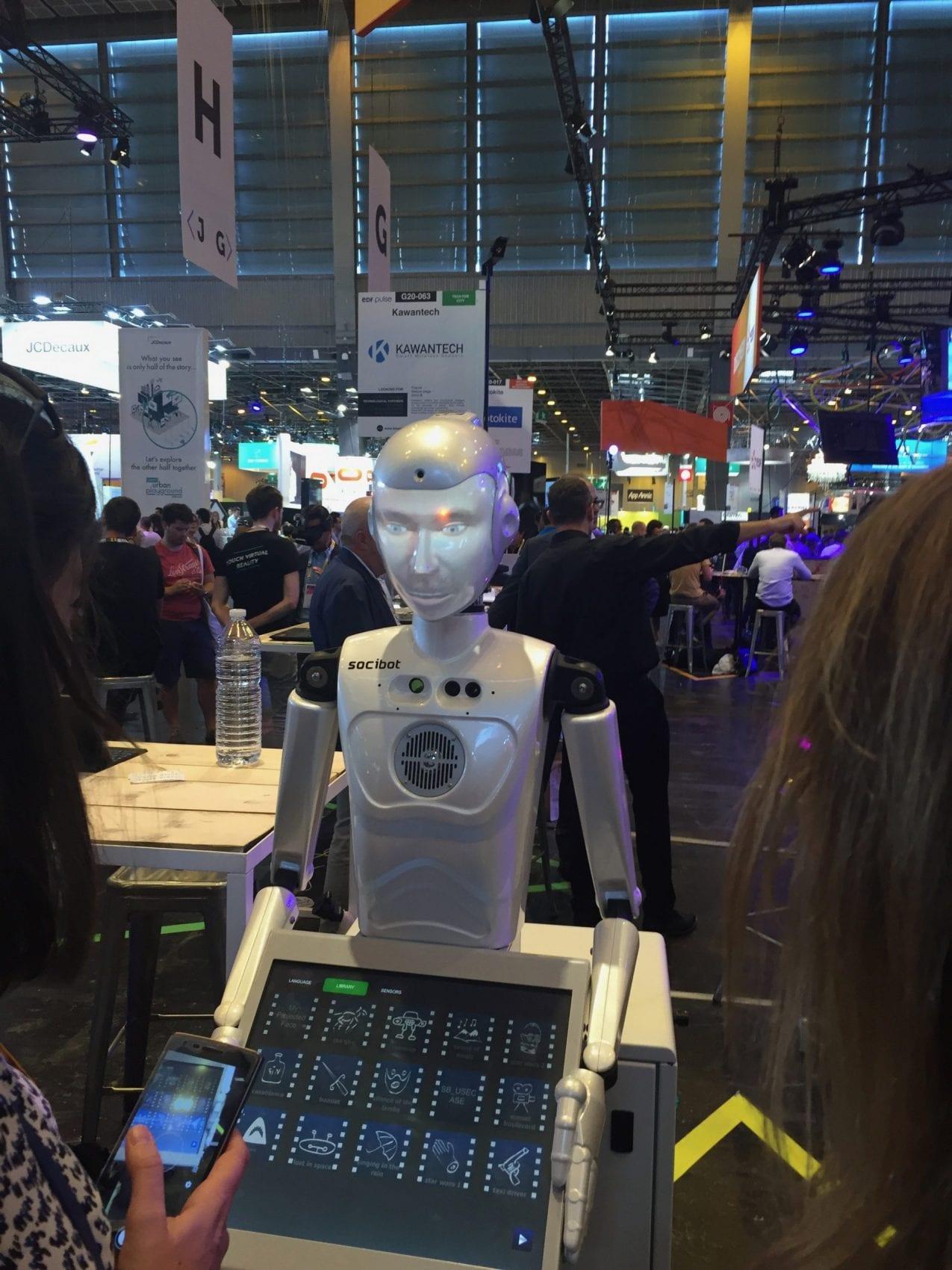 Viva Technology 2017 Event Review My Geek Actu RObot