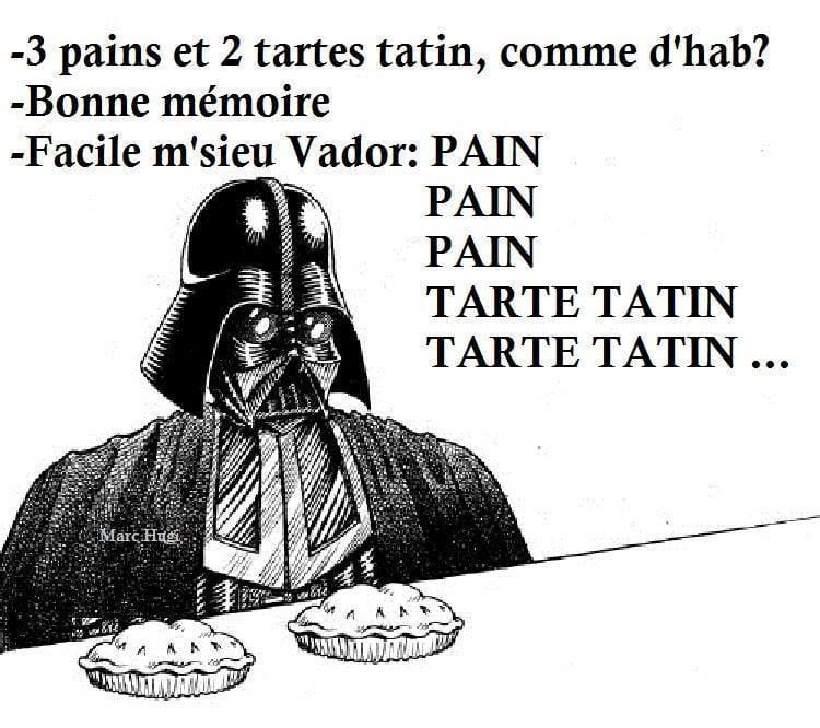 Dark Vador Boulangerie My Geek Actu