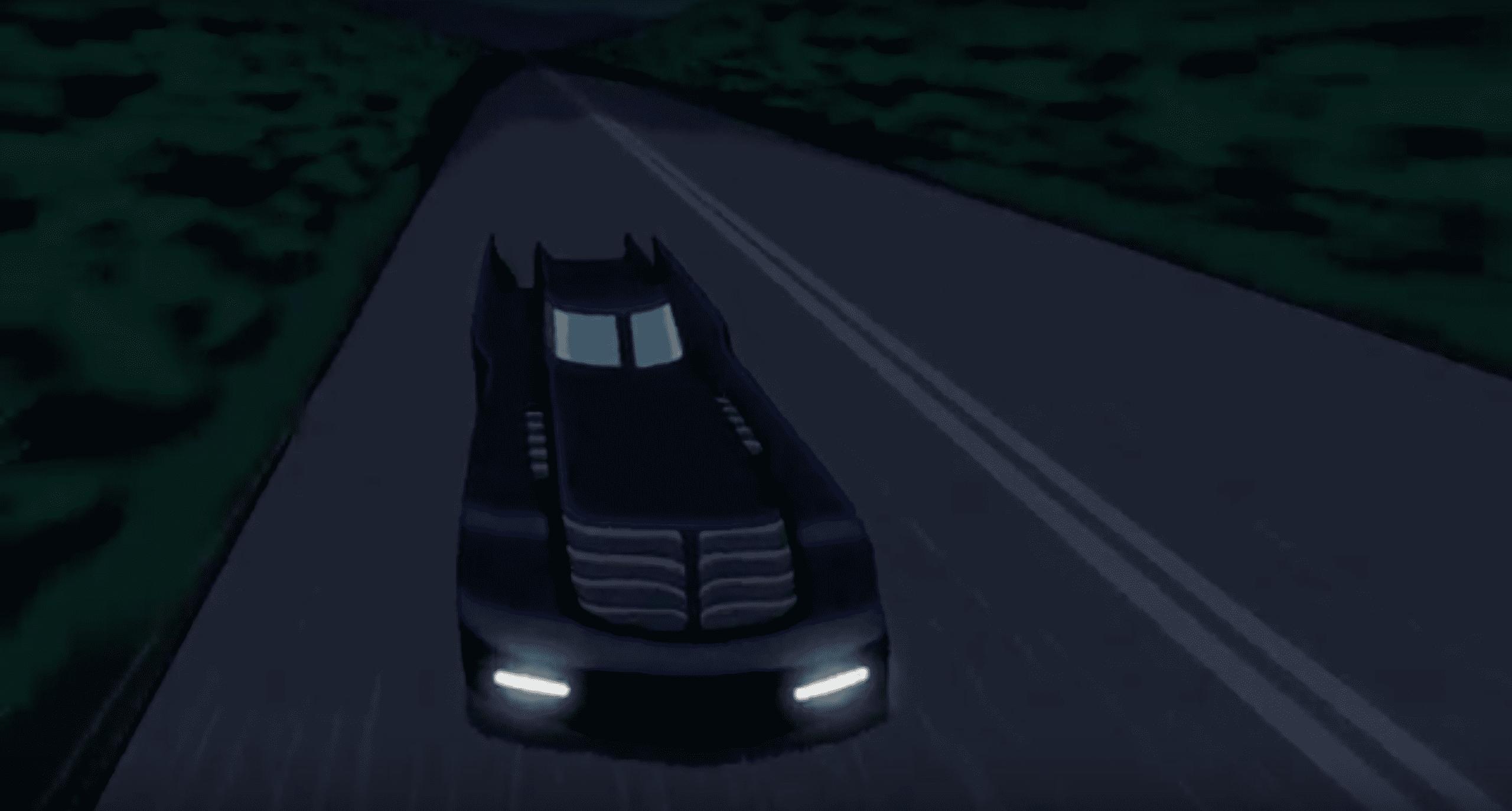 Batman & Harley Quinn Review My Geek Actu Batmobile.png