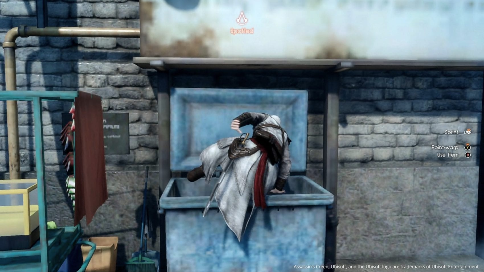Final Fantasy XV Assassin's Creed Assassin Festival Poubelle
