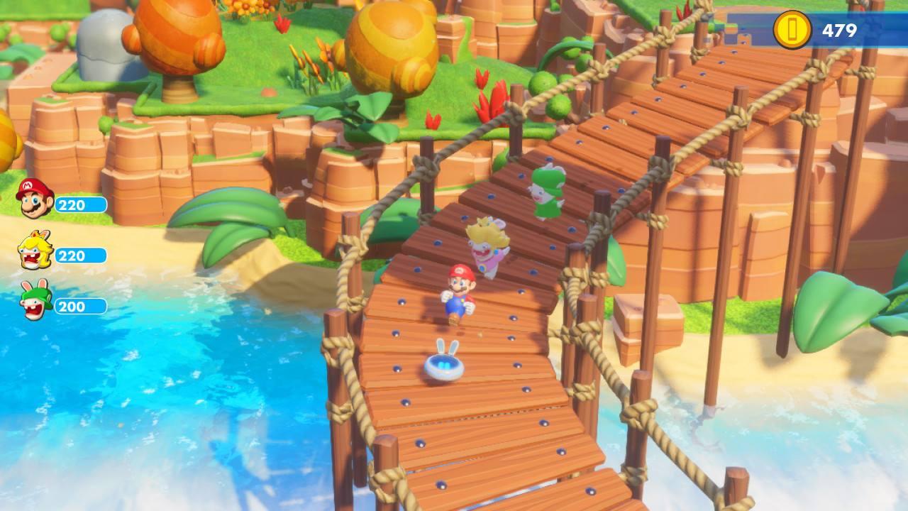 Mario + Lapins Crétins Kingdom Battle Pont 2 My Geek Actu Test