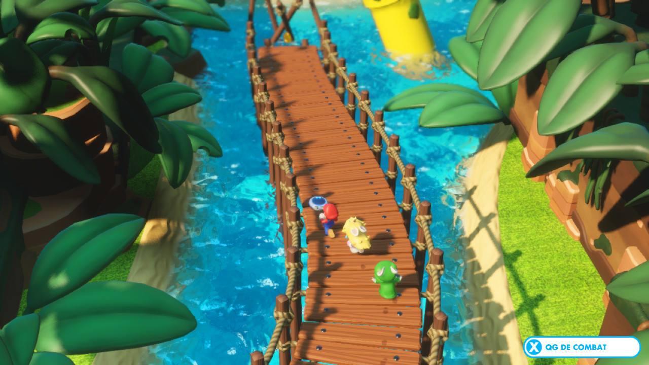 Mario + Lapins Crétins Kingdom Battle Pont My Geek Actu Test