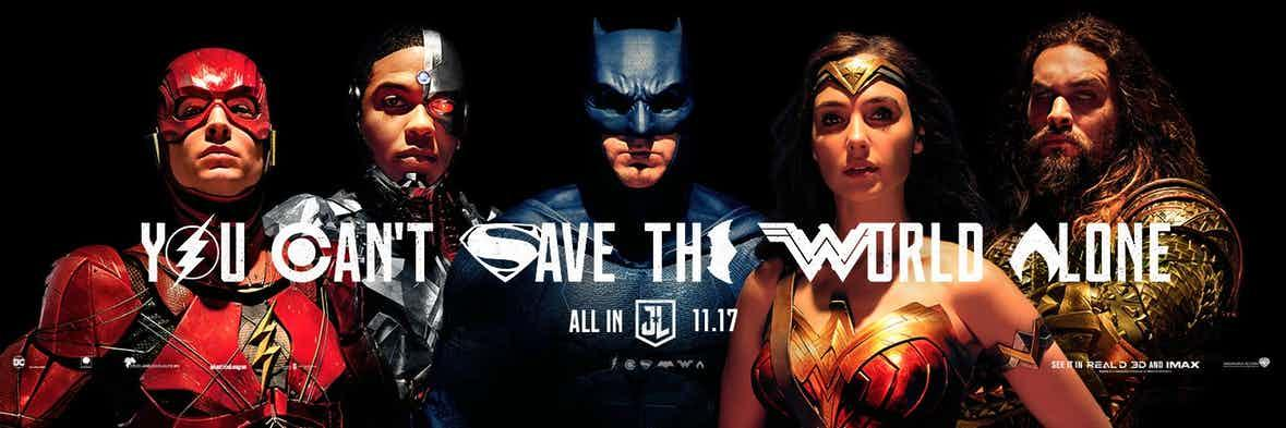 Justice League Trailer My Geek Actu You Can't Save The World Alone