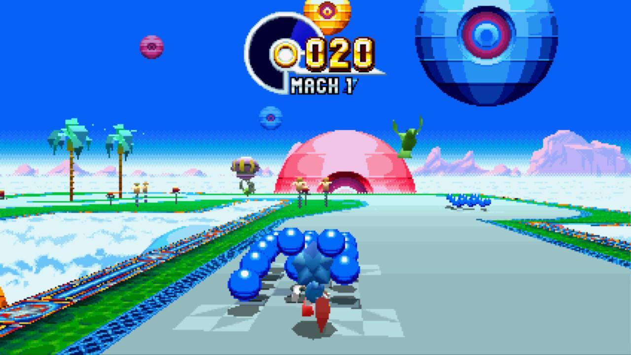 Sonic Mania Test My Geek Actu 3D